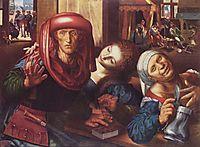 Risky society, c.1550, hemessen