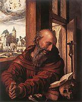 St. Jerome, hemessen