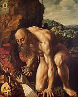 St. Jerome, 1543, hemessen