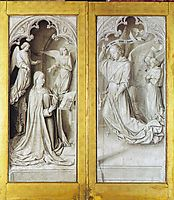 The Annunciation, c.1494, hey