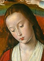 The Moulins Triptych (detail), c.1499, hey