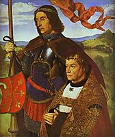 Portrait of Francis de Chateaubriand, c.1500, hey
