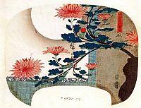 Chrysanthemums, hiroshige