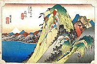Hakone Kosuizu, hiroshige