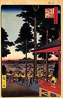 The Inari Shrine at Oji, hiroshige