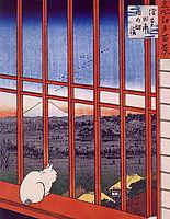 Otori Shrine, hiroshige