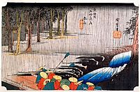 Tsuchi-yama, hiroshige