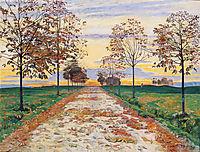 Autumn Evening, 1892, hodler