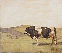 The bull, 1878, hodler
