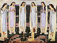 The Consecrated One, 1903, hodler