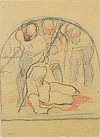 Dying cadet, c.1896, hodler