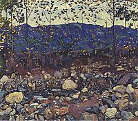 Forest Brook at Leissingen, 1904, hodler