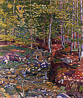 The Forest near Reichenbach, 1903, hodler