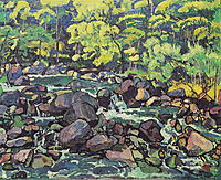 Forest Stream at Champery, 1916, hodler