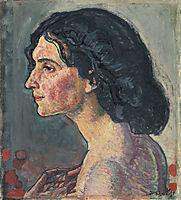 Giulia Leonardi , 1910, hodler