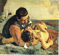 The Good Samaritan, 1885, hodler