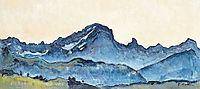 Grand Muveran, 1912, hodler