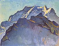 Jungfrau massif and Schwarzmonch, 1911, hodler