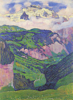 The Lady of the Isenfluh, 1902, hodler
