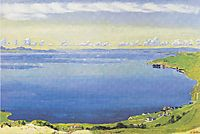 Lake Geneva from Chexbres, 1904, hodler
