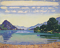Lake Thun from Lessig, 1904, hodler