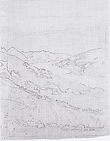Lake Thun from the path to the plate Schynigen, 1906, hodler