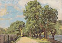 Landscape at the Jonction at Geneva, 1878, hodler