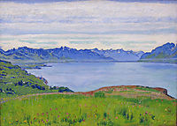 Landscape on Lake Geneva, 1906, hodler