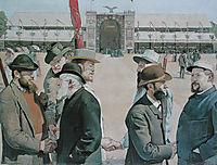 Modern Rütli, 1887, hodler