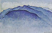 Peaks in the morning, 1915, hodler