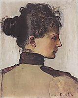 Portrait of Berthe Jacques, hodler