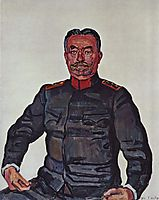 Portrait of General Ulrich Wille, 1916, hodler