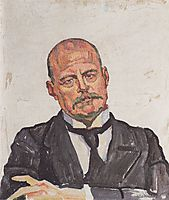 Portrait of Georges Navazza, 1916, hodler
