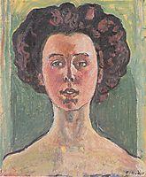Portrait of Gertrud Mueller, c.1912, hodler