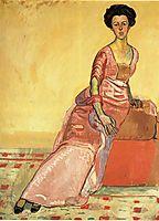 Portrait of Gertrud Muller, hodler
