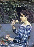 Portrait of Helene Weigle, hodler
