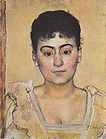 Portrait of Madame de R., 1898, hodler