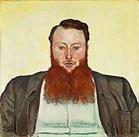Portrait of sculptor James Vibert, hodler