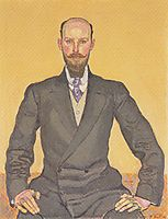 Portrait of Willy Russ, 1911, hodler