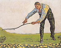 The Reaper, 1910, hodler