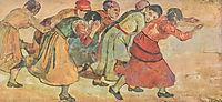 Running women, 1895, hodler