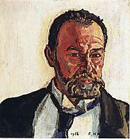Self portrait, hodler