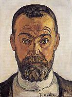 Self-portrait, 1912, hodler
