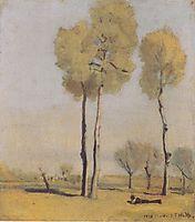 Spanish landscape, 1878, hodler