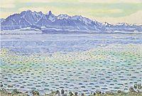 Thun, Stockhornkette, 1904, hodler