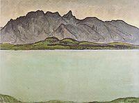 Thun, Stockhornkette, 1910, hodler