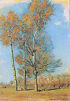 Tree on the Lake of Brienz near Bödeli, 1906, hodler