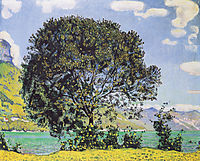 A View of Lake Brienz from Bodeli, hodler