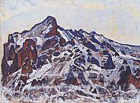 Wetterhorn, c.1912, hodler