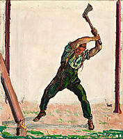 The Woodman, 1910, hodler